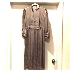 Gorgeous Vintage dusty lavender MAYLE Dress SZ 4